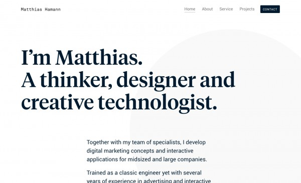 Matthias Hamann Web Development