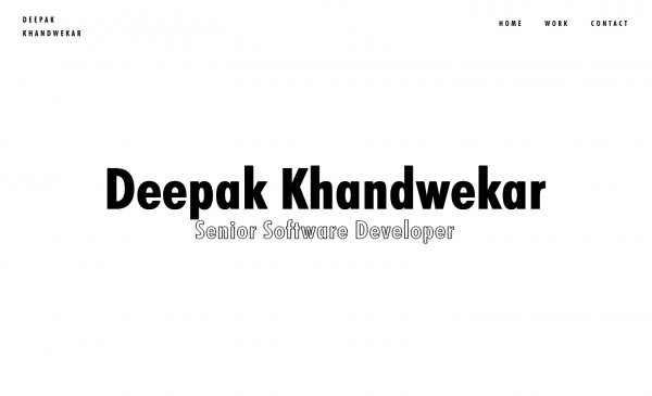 Deepak Khandwekar