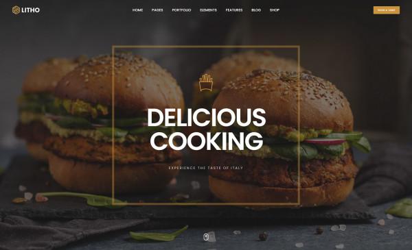 Litho WordPress Theme