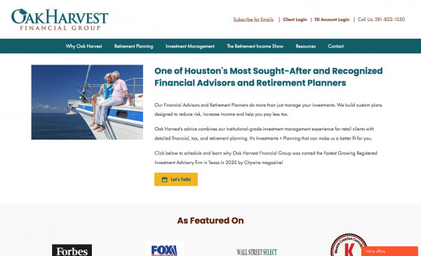 Oak Harvest Financial Group