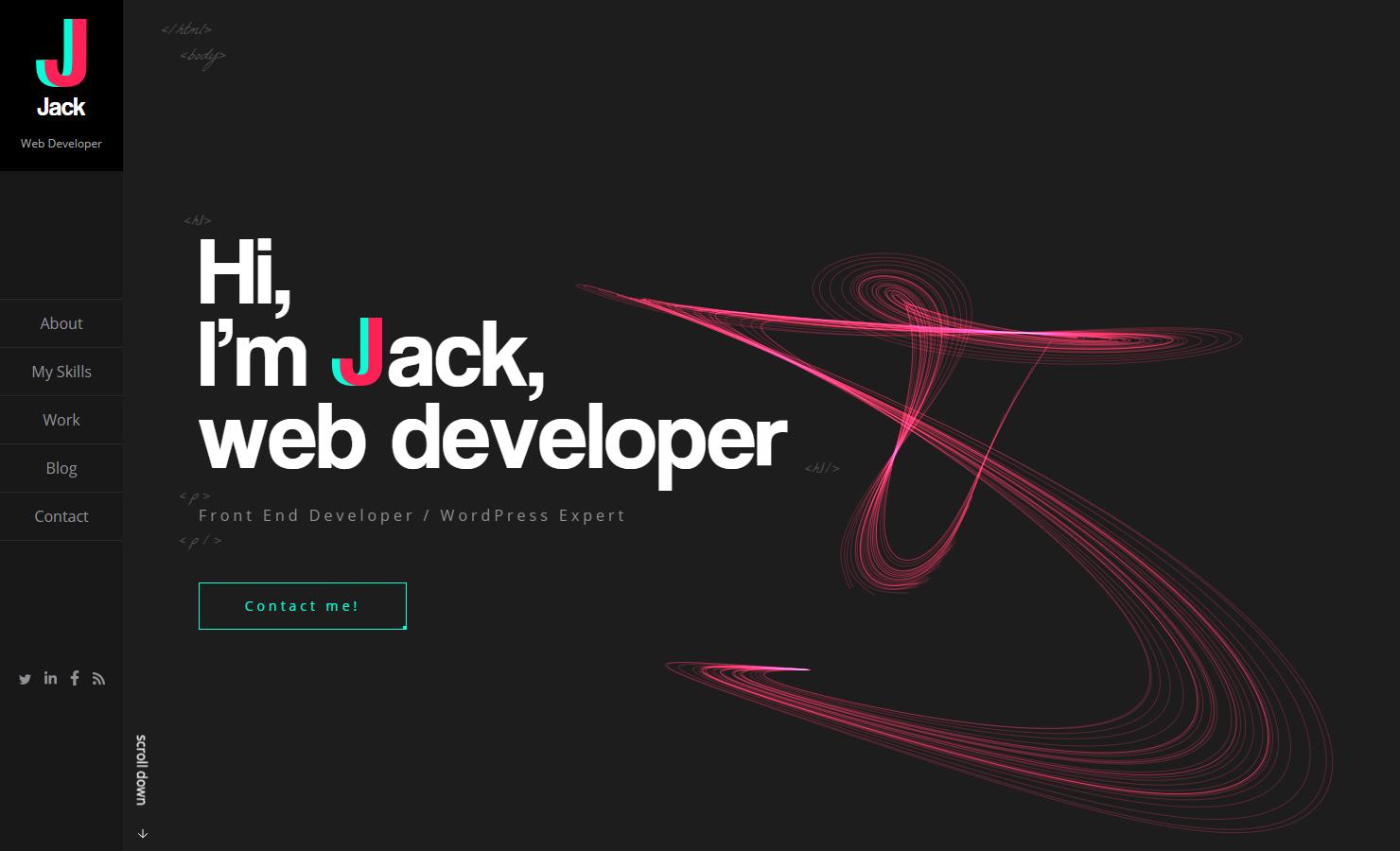 JJ  web developer portfolio
