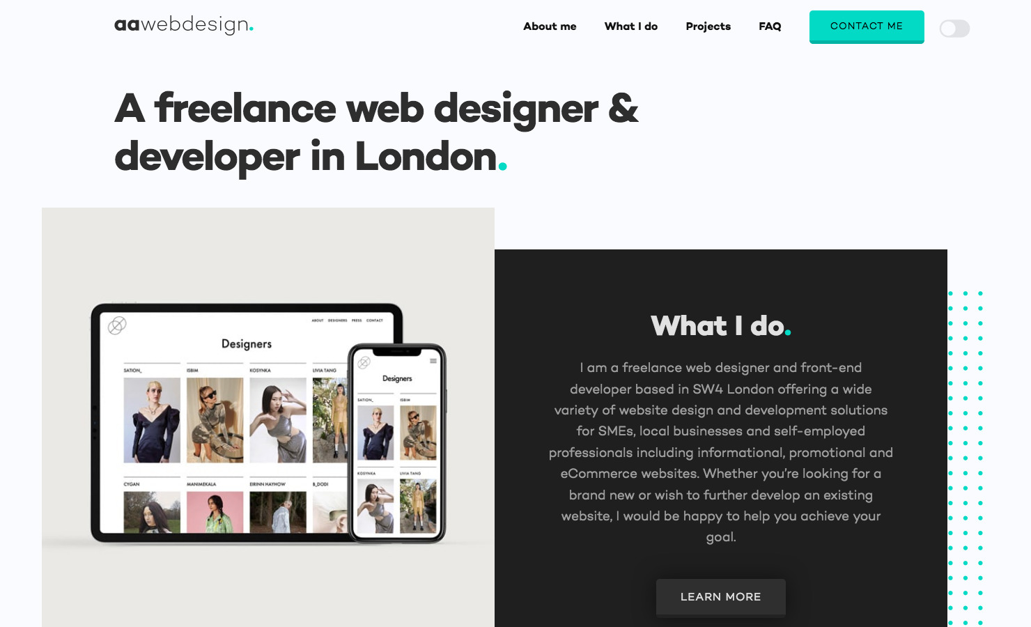 Andre Armacollo Freelance Web Designer
